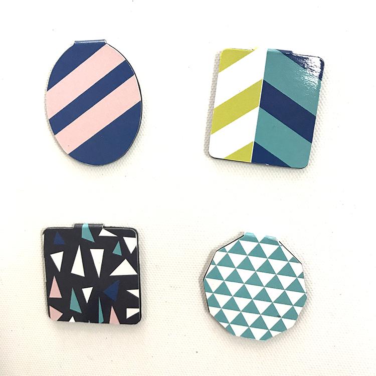 Colorful Logo Cheap Custom Magnetic Bookmark