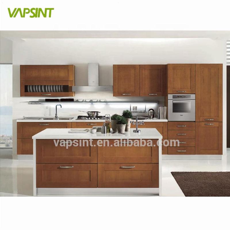 Foshan New Wood Grain Kitchen Cabinets Buy Wood Grain Kitchen Cabinets Wood Kitchen Kabinet New Kitchen Kabinet Product On Alibaba Com