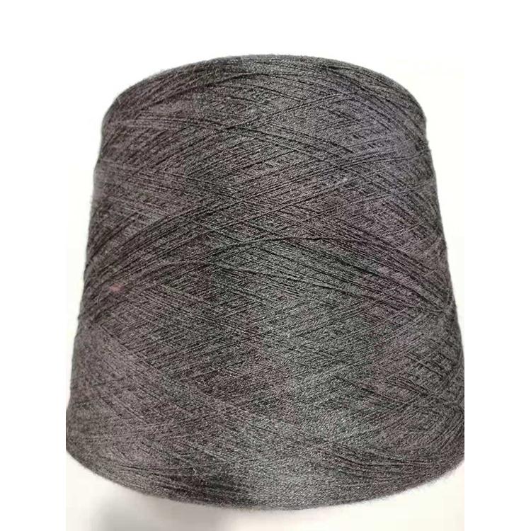 Fashion 100% viscose melange spun yarn for knitting