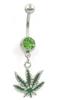 Silver green diamond