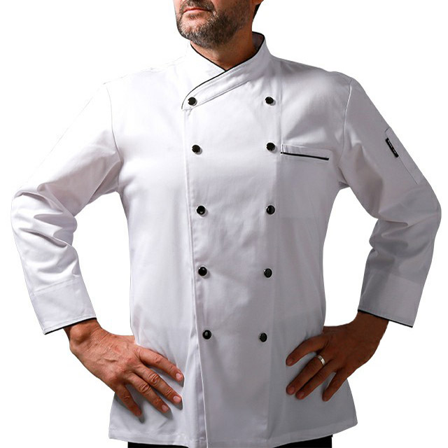 New Fashion Long Or Short Sleeves Restaurant Hotel Coats Jackets Cooking Chef Clothes