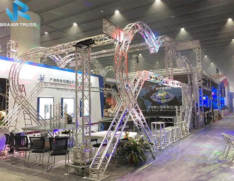 Балочная установка для алюминиевого литья под давлением болт высокого качества для литья под давлением выставка стропильные балки выставочный стенд
