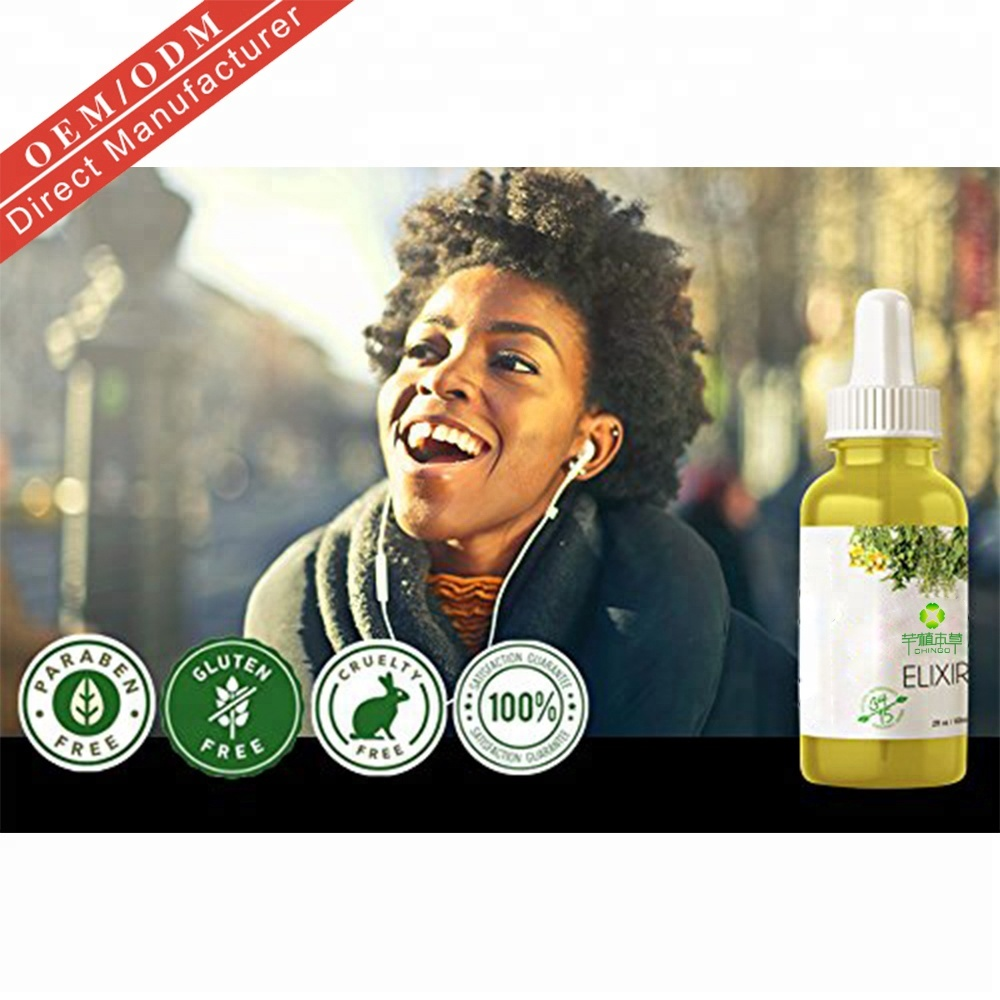 Hot Sell Private Label 100% Natural Formula Wholesale Nourishing Scalp Elixirs Hair Care Loss Treatment Hair Growth Oil Serum