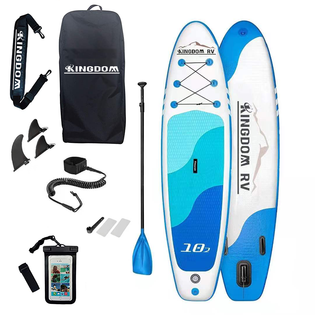 Kingdomrv drop shipping SUP stand up paddle board and supboard paddle surfboard inflatable paddleboard isup board