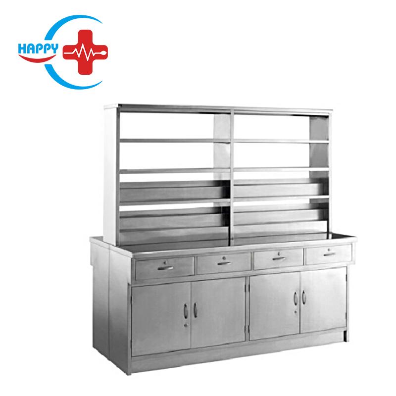 HC-M079 цена медицинского инструмента, двусторонняя лекарственная аптека, стол для подготовки медицинской комнаты