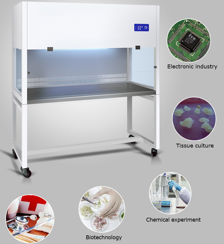 Easy Operation Air Cleaning Equipment Medical Health Laminar Flow Hood