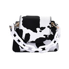 Hot Selling Fashion Mini Girls Cute Zebra Milk Stripe Handbags New Trendy Shoulder Handbags