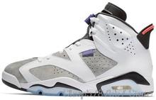 Мужские баскетбольные кроссовки Nike Air Jordan 6 из потертой джинсовой ткани, оригинальные баскетбольные кроссовки с высоким берцем, унисекс, Jordan...()