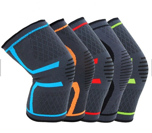 Silicone Knee Pads volleyball knee protector,Knitted Protector knee pads for basketball