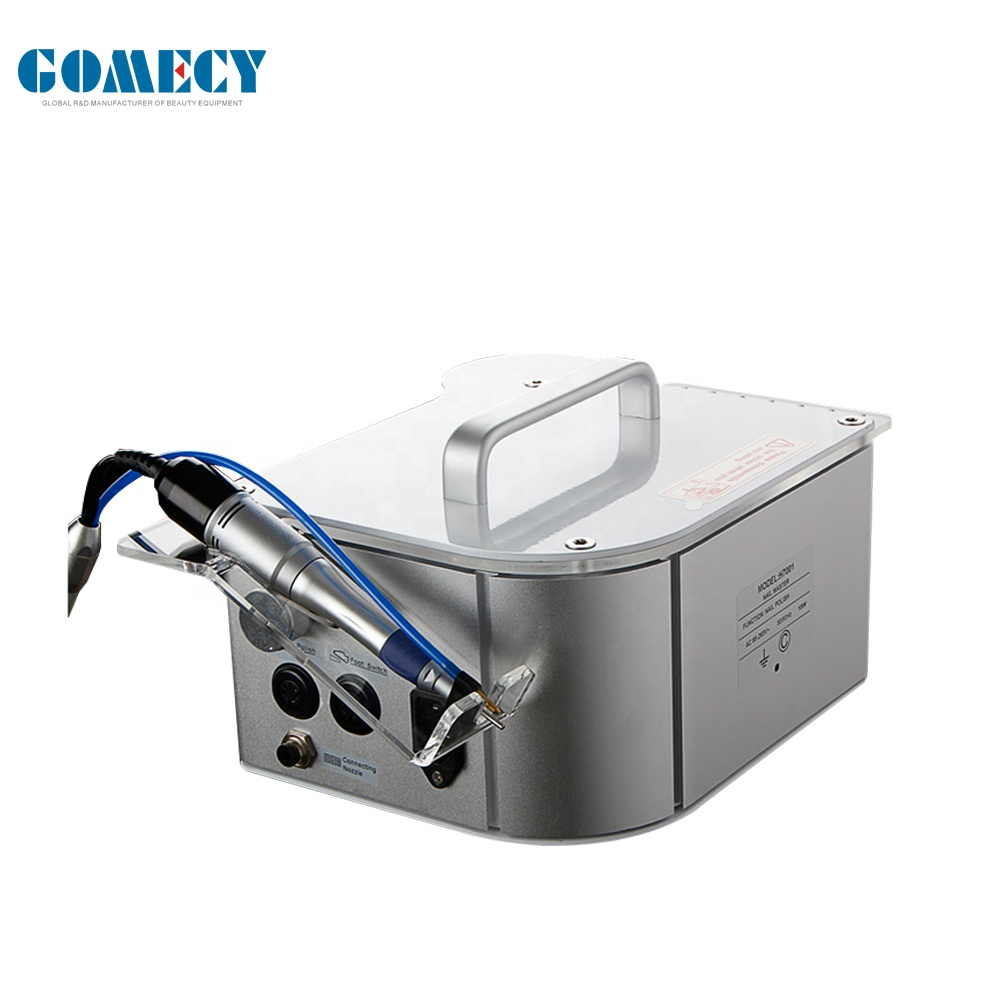 electric nail drilling machine Electric Polishing with spray cooling reduction dust water sprayer value adjustable speed