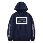 Hoodies Cotton Pullover FYB High Quality Custom Printing Logo Embroidery Plain 100% Cotton Blank Pullover Heavy Oversize Thick Mens Hoodies