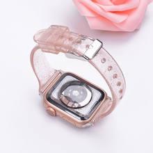 Ремешок для часов, силиконовый для Apple Watch 5/42/44/38/40 мм(Китай)