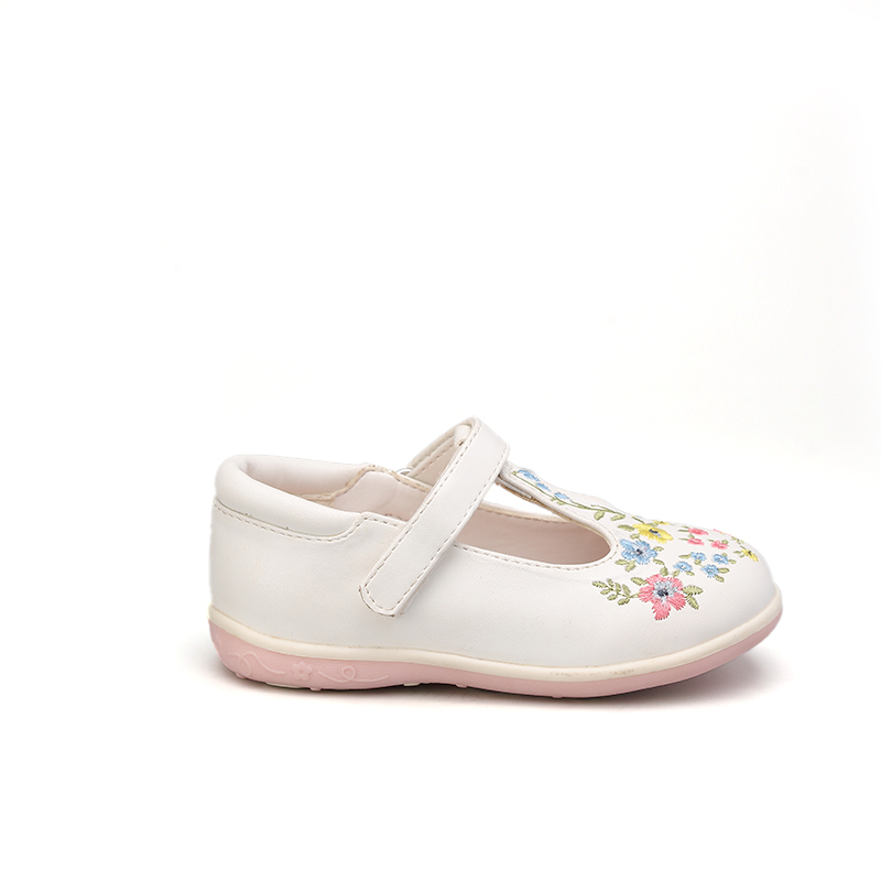2021 с цветочным принтом stylishschool отдыха Праздничная обувь для женщин; Прогулочная обувь для девочек; Туфли на плоской подошве Mary Jane