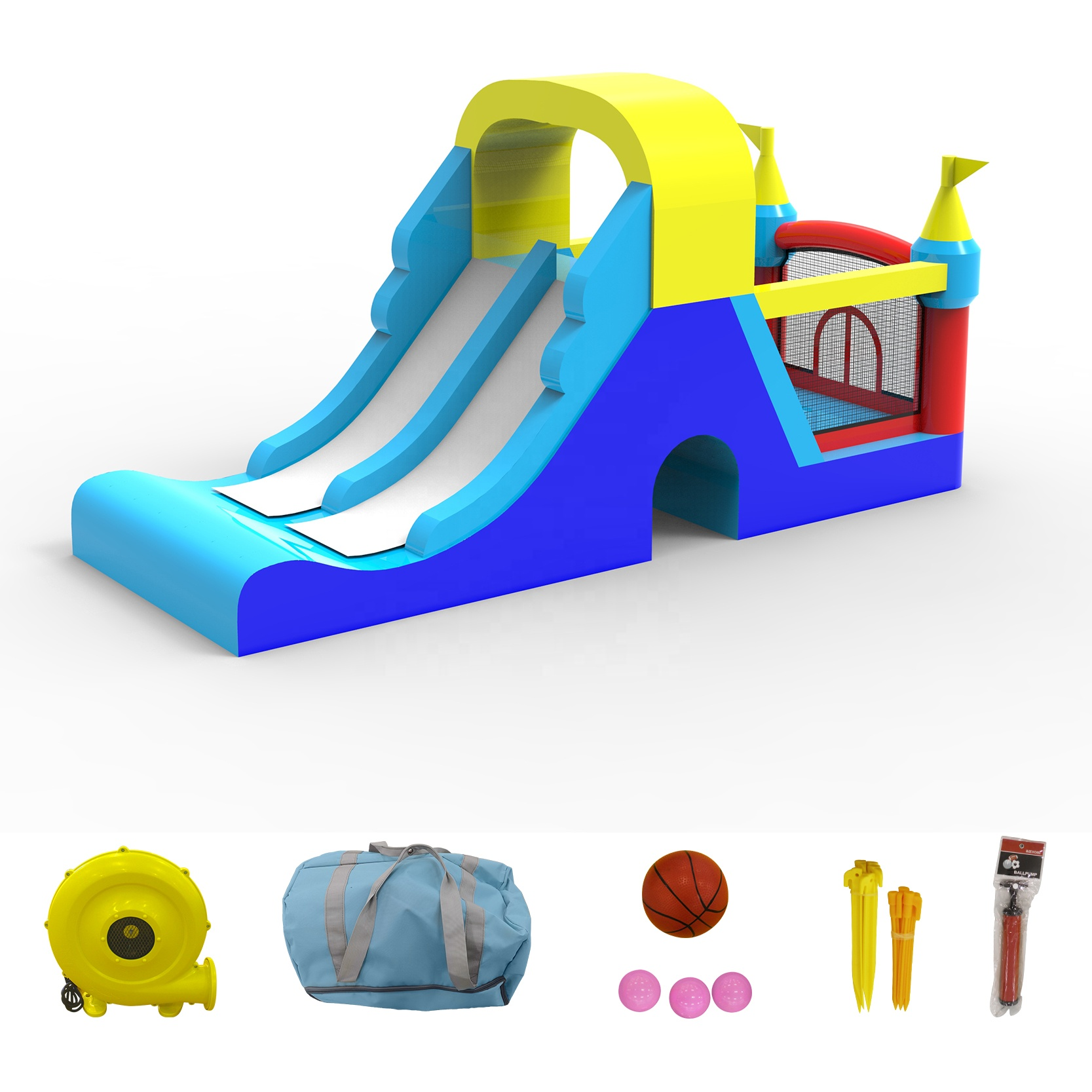 New arrival inflatable bounce jumping house for children Oxford cloth games kids