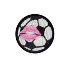 Football Patch Patches Football Basketball Embroidery Patch Backpack Mobile Shell Badge Handbook Patch Sticker Clothing Accessories Spot