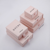 light pink ring box 5*5*3.5cm