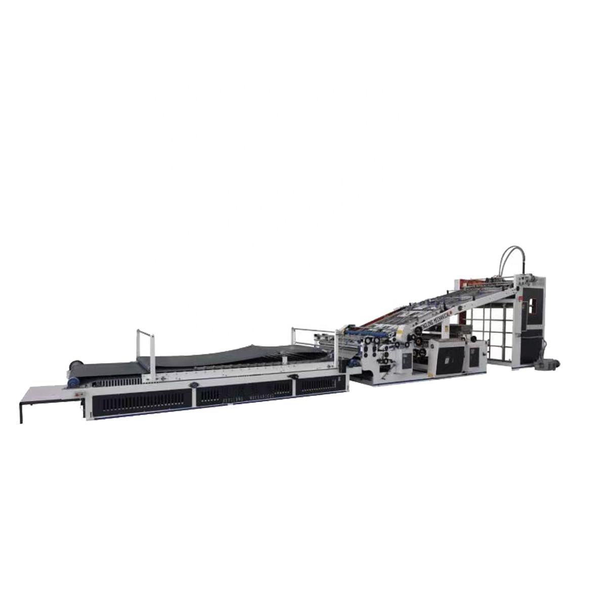 Corrugated sheet Carton box Flute laminating machine price