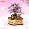 HQB004018(487PCS Romantische Kirsche Musik Box)