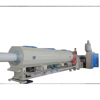 Plastic Pipe Extrusion Production Line HDPE PP PPR Tube Making Machine With CE Certificate