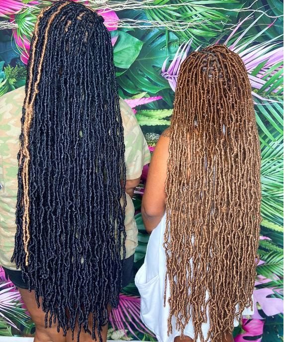 Goddess Nu Locs Crochet Hair Synthetic Soft Faux Loc Braiding Hair Extension