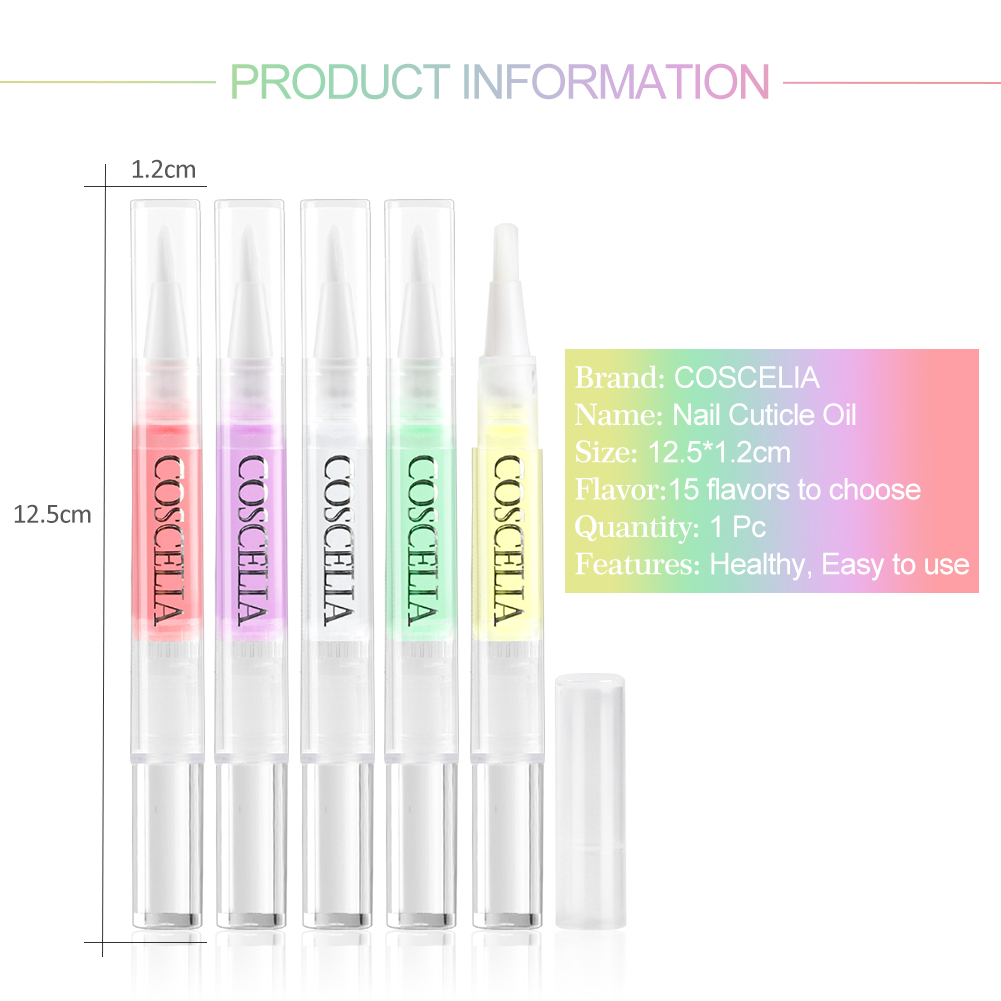 OEM/ODM 15 Different Cuticle Revitalizer Oil Pen for wholesale Private Label nail care tools