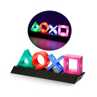 Ps Icons LED Light 3 Lights Modes Game Room Accessories and Play station Decor Lamp Living Room Bedroom Acrylic Atmosphere