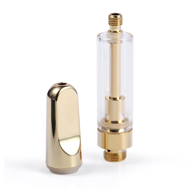 Hot sell Lead-free copper 05ml 1 ml disposable vape pen with carts ceramic cbd vape atomizer - MrVaper.net