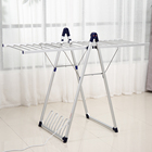 SHARNDY Aluminum clothes warmer Free standing heated clothes rack Clothes airer dryer