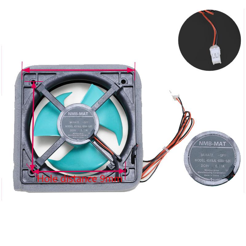 Холодильный двигатель охлаждающего вентилятора с воздушным охлаждением, запчасти для холодильника, запасные части для холодильника