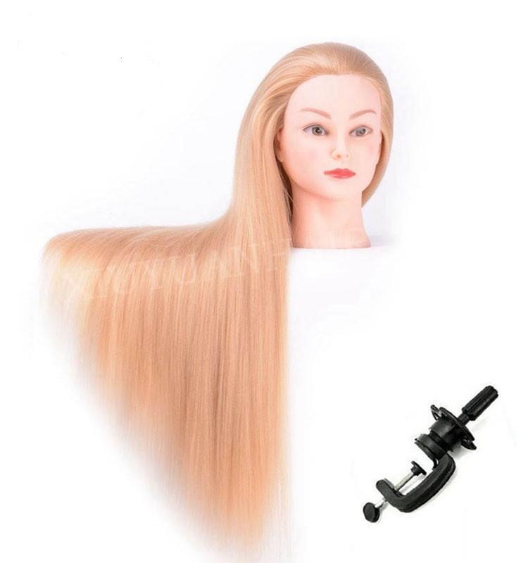 Adjustable Mannequin Head Holder Wigs Stand Training Head Clamp Stand Training Doll Head Holder