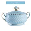 soup pot(blue)