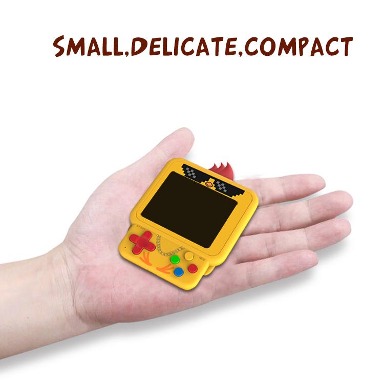 W1 3 Inch Handheld Retro Game Console cut chicken handheld game player 99 IN 1 Game Classic Console gamepad