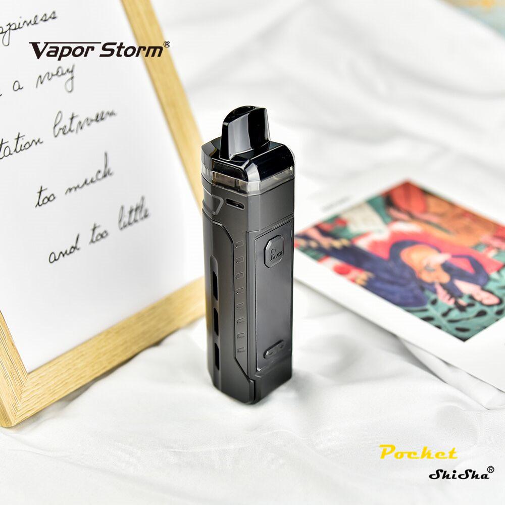 Vapor Storm V-PM 40w Starter Kit Electronic E Cigarette Vape with Box Mod Atomizer Tank - MrVaper.net