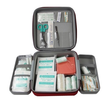 First aid survival kit emergency medical first aid kits and bags for car, travel,roaside