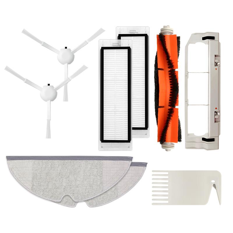 Запчасти для робота-пылесоса Xiaomi 1 s MI 2 Roborock S50 S51 S5, фильтр НЕРА, боковая щетка, основная щетка, насадка на швабру