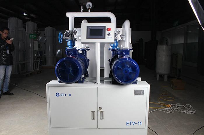 Central Vacuum System Medical Rotary Vane Vacuum Plant for Hospital with Ce