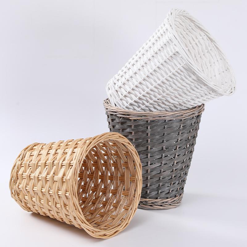 Гарантия качества, модная дешевая плетеная подарочная корзина для хлебобулочных изделий в новом стиле