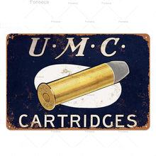 Мужская винтажная металлическая Оловянная табличка с пистолетами, винтажные значки в стиле ретро, Декор стен для мужчин, украшение в виде п...(Китай)