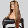 long highlight wig