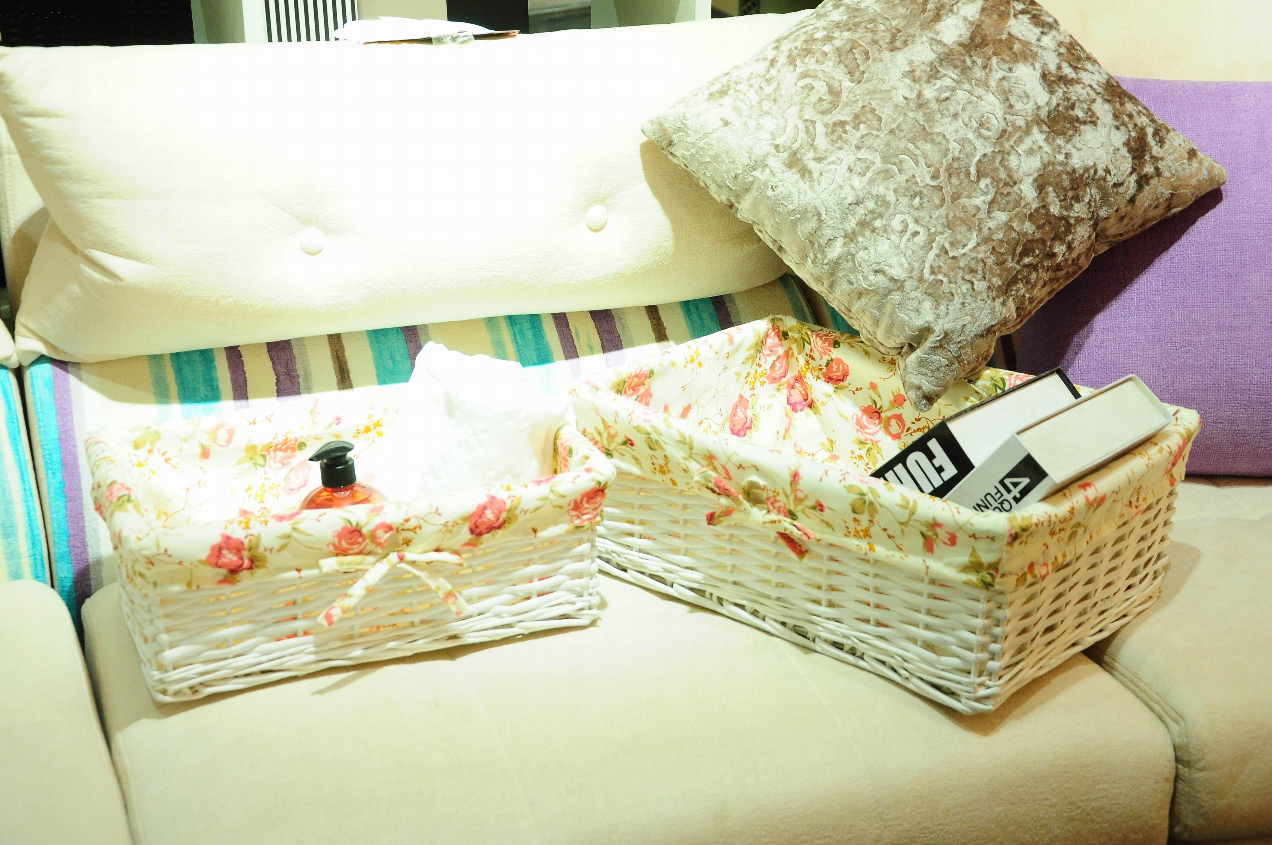 Оптовая продажа, декоративная плетеная корзина для детей из натурального ремесла, подарочная корзина