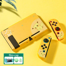 Чехол для контроллера 3 в 1 для Nintendo Switch NS Joy-Con, милый компьютер, защитный чехол, комплект, аксессуары для консоли(Китай)
