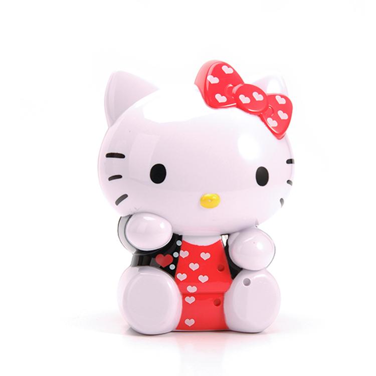 Hello Kitty shaped plastic gift set