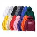Hoodie Hoodies Plain Hoodies Custom Plain Pullover Printing Sweatshirt Streetwear Jumper Blank Unisex Embroidery 100 Cotton Fleece Hoodie