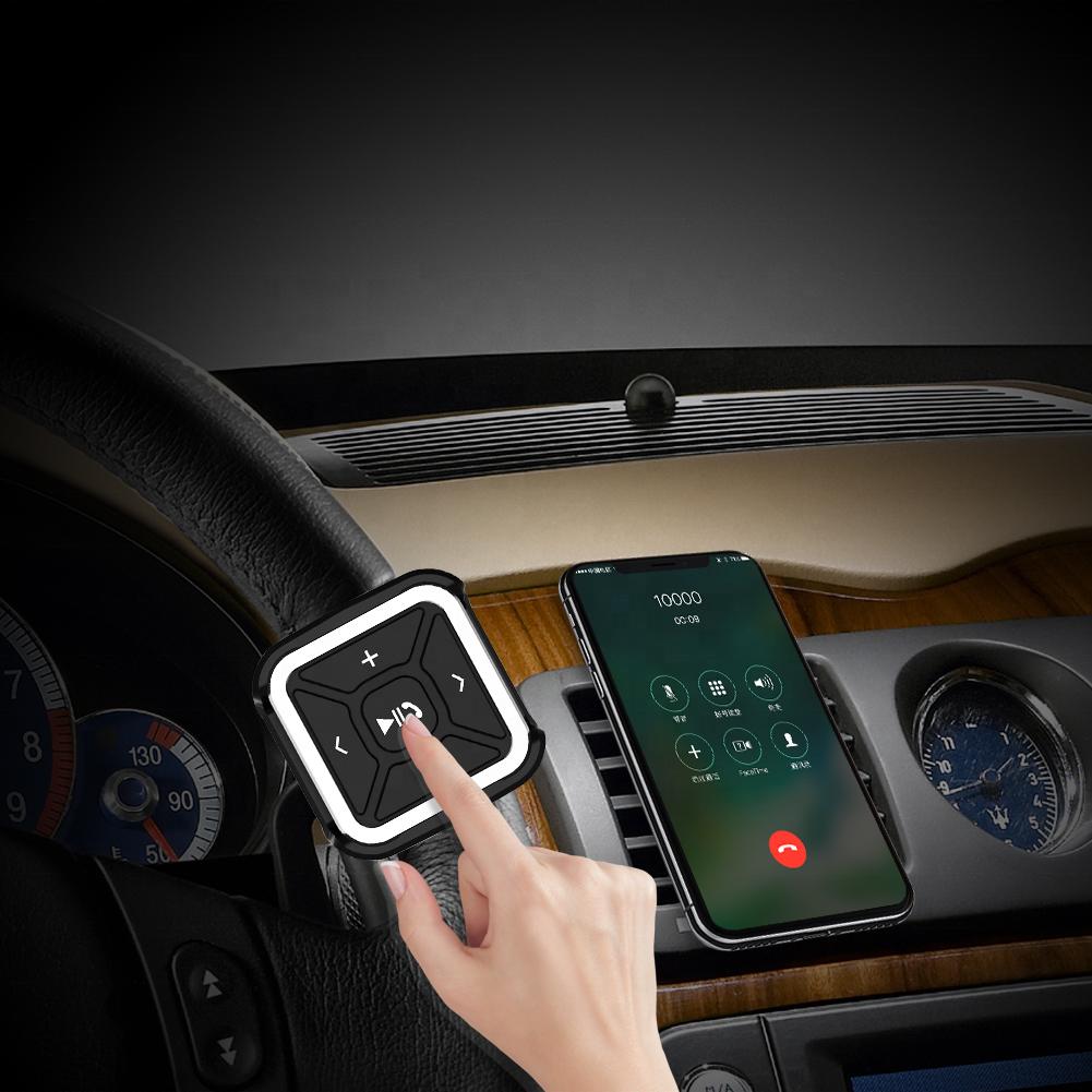Новый многофункциональный BLE Аудио Адаптер гарнитура BLE медиа Кнопка беспроводной автомобильный BLE музыкальный приемник с приемником вызова