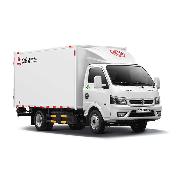 Best selling products 4x2 3.5 ton 280km long endurance millage realiable lorry delivery van box Cargo truck