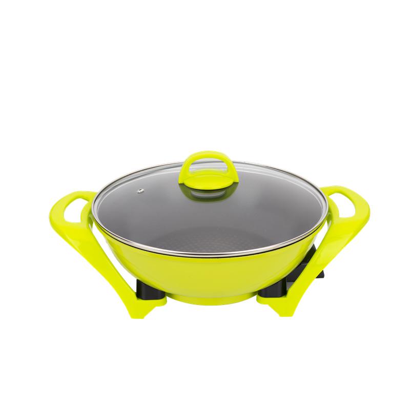 Контроль температуры литая алюминиевая посуда электрический варочный котел