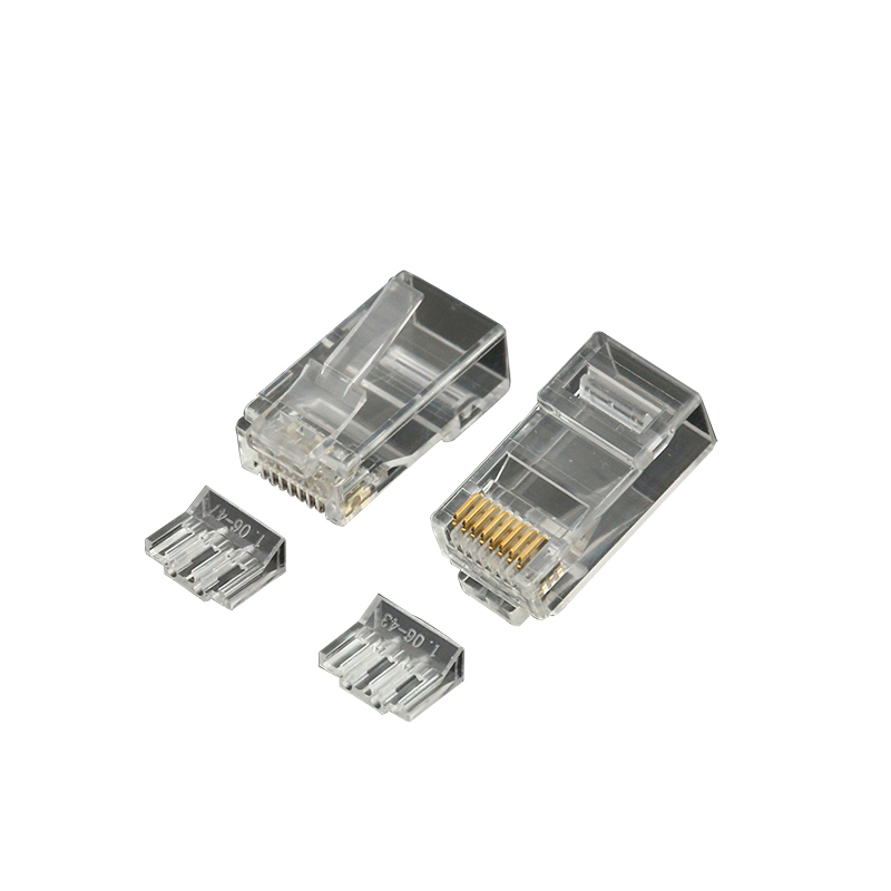 EXW High Quality Cat6 RJ45 Connector Plug Unshielded