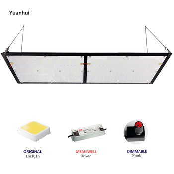 Yuanhui newest growing led light for indoor plant growth, 240w Sam-sung lm301h qb 288 panel boards