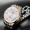 White dial+rose gold