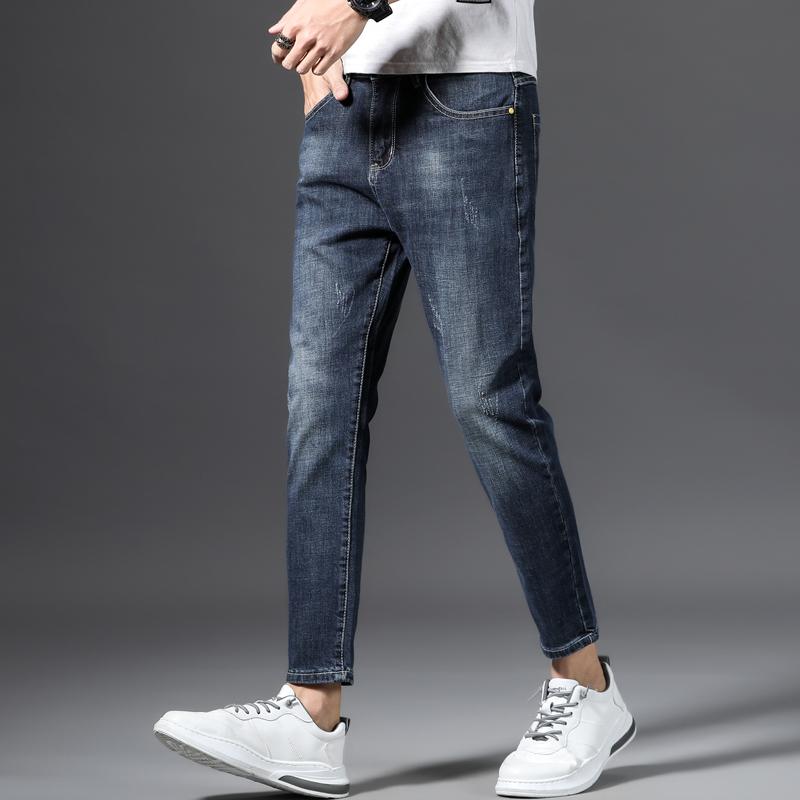 De Gran Tamano Gris Denim Jeans Para Hombres 2020 Nuevo De Alta Calidad De Algodon Delgado Pantalones Juventud Marca De Moda Jeans Buy Pantalones Cortos De Mezclilla Para Hombre Pantalones Vaqueros Para